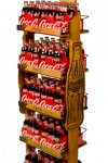 Coca-Cola Wood Rack